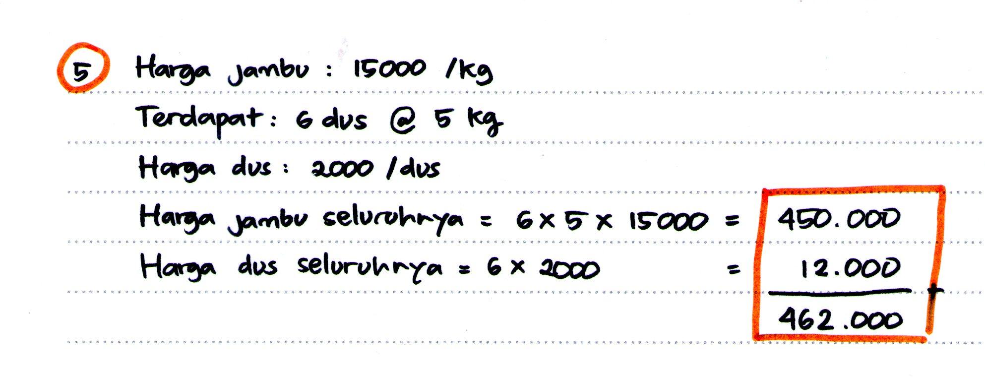 Contoh Soal Psikotes Logika Matematika Seribu Rumus