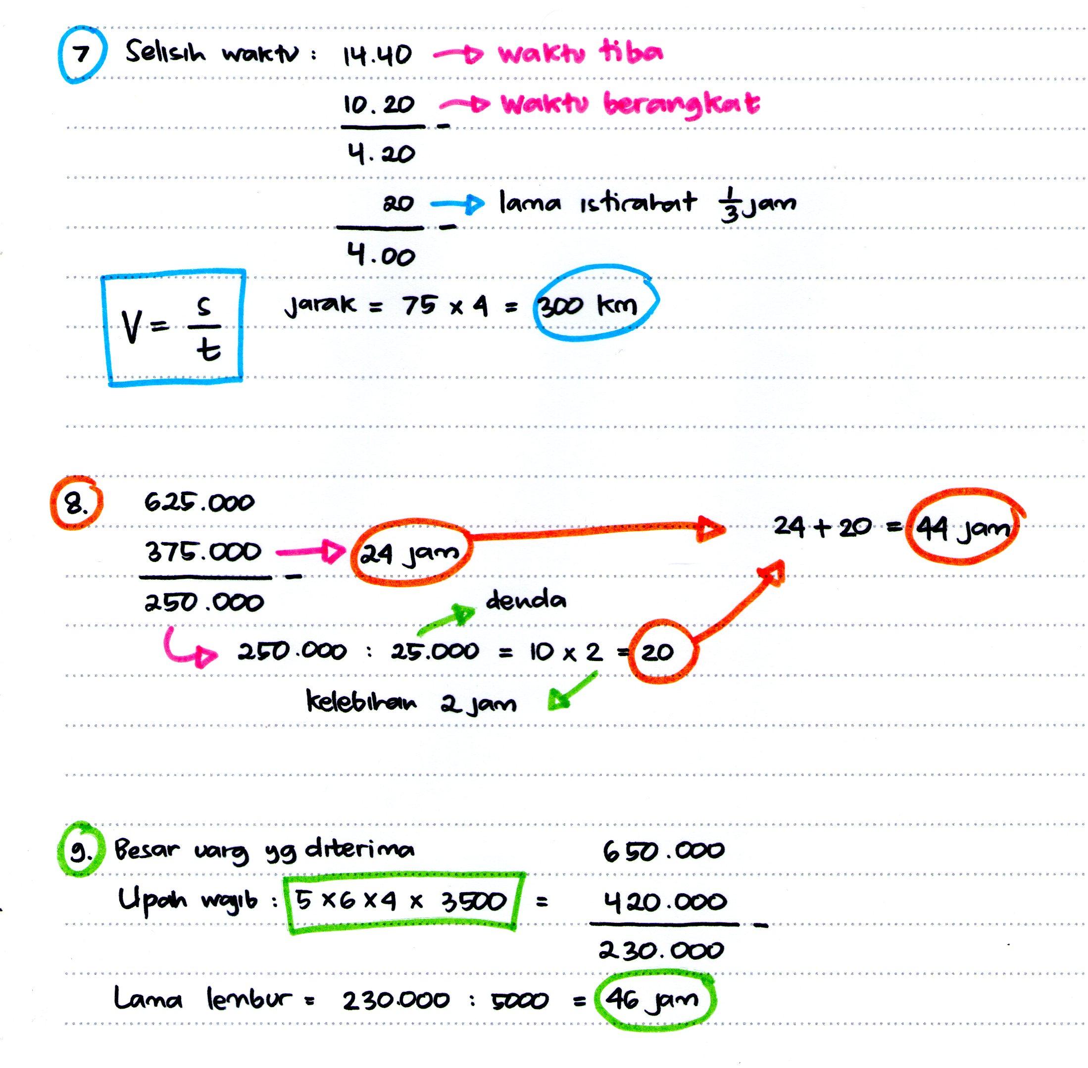 Psikotes Logika Matematika Episode 2-5