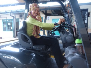 Forklift Komatsu Matic Nomor 22